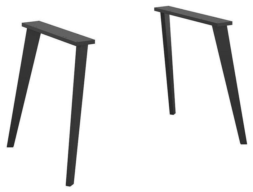 Black Red White Vario Modern Wooden Rectangular Legs Black