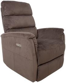 Atzveltnes krēsls Home4you Barclay 13859, brūna, 79x86x105 cm