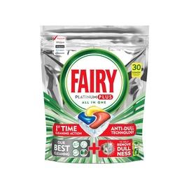Trauku mazgājamās mašīnas kapsulas Fairy Platinum Plus Lemon, 30 gab.