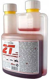 Eļļa AutoDuals 2T-mix Semi-Synthetic Oil with Dosator Red 0.5l