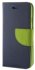 Mocco Fancy Book Case For Huawei P20 Lite Blue/Green