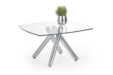 Kafijas galdiņš Halmar Almera Glass, 800x800x450 mm