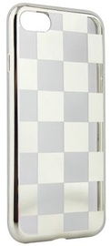 Mocco ElectroPlate Chess Back Case For Huawei P9 Lite 2017 Silver