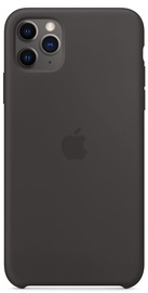Apple Silicone Back Case For Apple iPhone 11 Pro Max Black