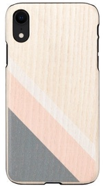 Man&Wood Back Case For Apple iPhone XR Pink Suit