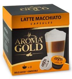 Aroma Gold Latte Macchiato Coffee Capsules 8pcs 193.6g