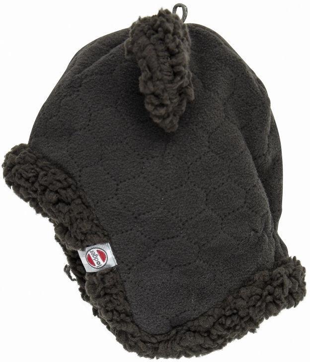 Ziemas cepure Lodger Baby Fleece Hatter BotAnimal Raven 6-12