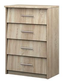 Шкаф для обуви Idzczak Meble 1 Sonoma Oak, 600x360x860 мм