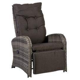 Садовый стул Home4you Colombo, серый