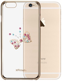 X-Fitted Butterfly Swarovski Crystals Back Case For Apple iPhone 6/6s Gold
