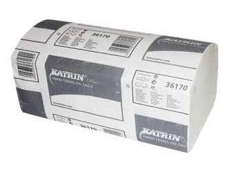 Katrin Plus ZZ Fold Hand Towel 150 Sheets 20pcs White