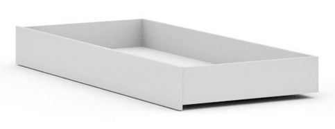 Black Red White Possi Bed Drawer 90 White