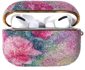 Kingxbar Rainbow Shiny Glitter Case For Apple AirPods Pro Pink