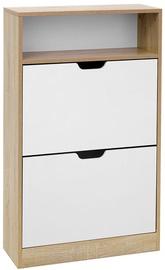 Songmics Shoe Cabinet White/Wooden