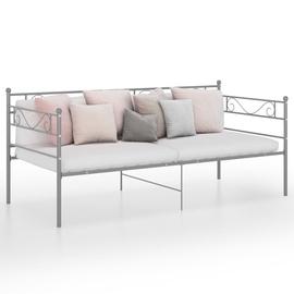 Диван-кровать VLX Metal 324769, серый, 206.5 x 95 x 89.5 см
