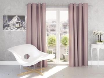 Okko Night Curtains Silk 140x245cm Pink