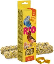 Mealberry Rio Sticks For All Birds Egg & Seashells 2x40g