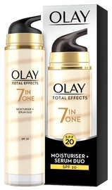 Сыворотка для лица Olay Total Effects 7in1 Moisturiser + Serum Duo SPF20, 40 мл