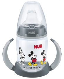 Детская поилка Nuk First Choice Disney Learn Bottle Mickey Mouse 150ml Grey