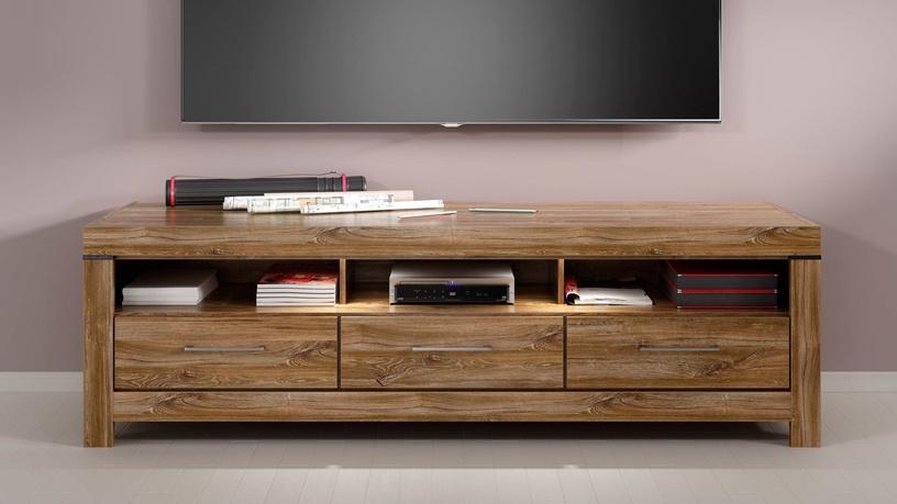 ТВ стол Black Red White Gent Stirling, дубовый, 2000x540x600 мм