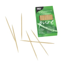 Pap Star Wooden Toothpicks 100pcs