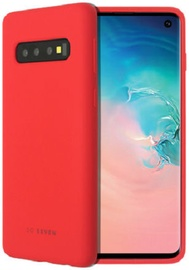 So Seven Smoothie Back Case For Samsung Galaxy S10 Red