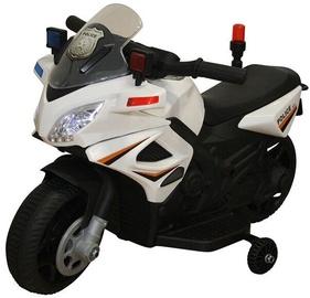 Rotaļlietu bezvadu motocikls Netcentret Police Motorcycle, balta/melna
