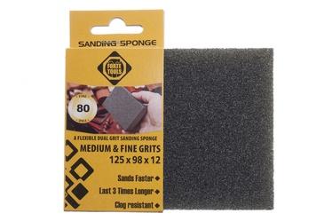 Slīpēšanas sūklis Forte Tools, NR80, 125x98x12 mm, 1 gab.