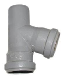 Kanalizācijas cauruļu trejgabals Wavin D40/40mm, 67°