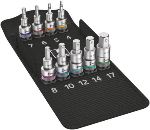 Wera Socket Sets 8740 C HF 1 9pcs