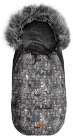 Детский спальный мешок Sensillo Olaf Dots Graphite, 100 см