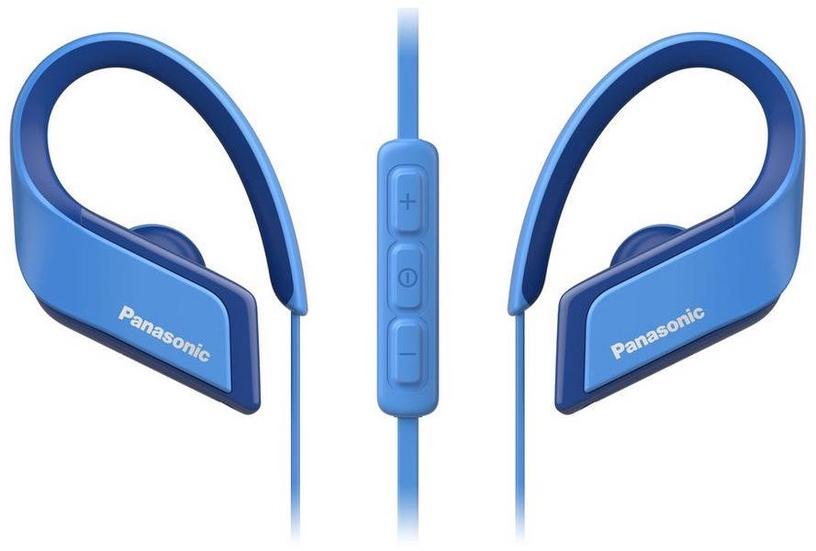 Наушники Panasonic RP-BTS35 Blue, беспроводные