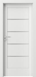 Полотно межкомнатной двери Verte Home G4, белый, 203 см x 64.4 см x 4 см