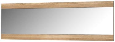 Spogulis Szynaka Meble Locarno 80 Golden Oak, stiprināms, 155x50 cm