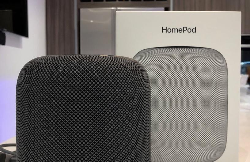 Bezvadu skaļrunis Apple HomePod Space Gray