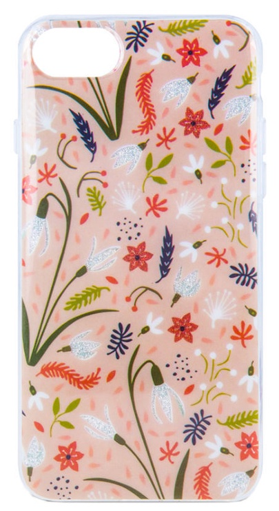 Mocco Spring Back Case For Samsung Galaxy A7 A750 White Snowdrop