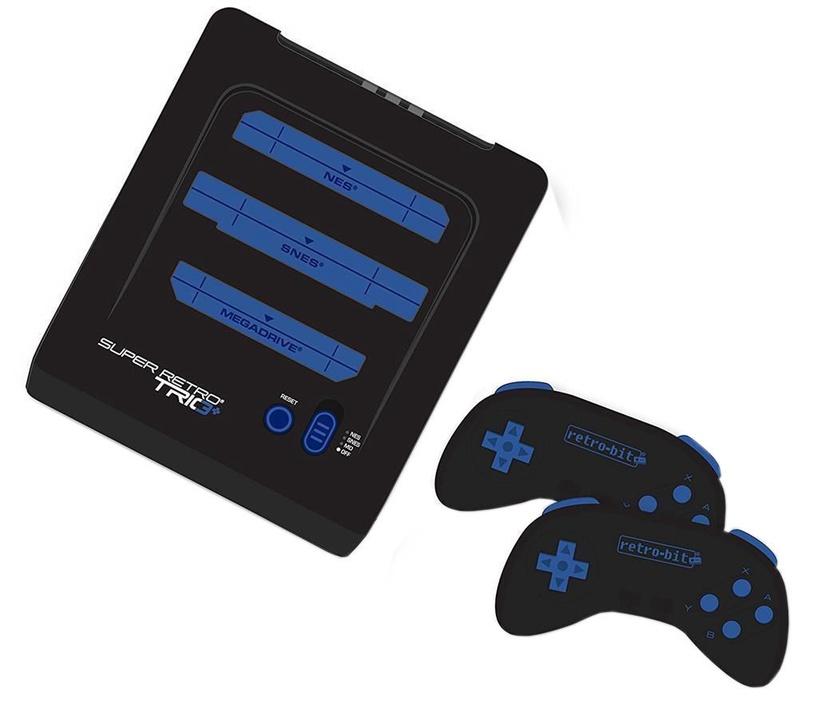 Retro-Bit Super Retro Trio Plus Megadrive, NES And SNES Cartridges Compatibility