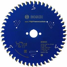 Пильный диск Bosch 2608644133 Circular Saw Blade High Pressure Laminate 165x20mm