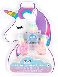 Nagu laka Make It Real Unicorn Glimmer Nail Polish Trio, 24 ml