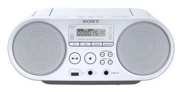 Magnetola Sony ZSPS50W, 4 W, balta