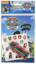 Spin Master Paw Patrol Color And Sticker Fun 6027088