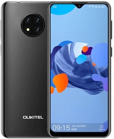 Mobilais telefons OukiTel C19, melna, 2GB/16GB