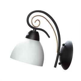 Gaismeklis Domoletti Miranda MB11007/1 Wall Light 60W E27 Black/White