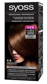 Syoss Color Permanent Hair Color 4 8 Chocolate Brown