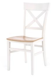Стул для столовой Halmar Tutti White/Honey Oak, 1 шт.