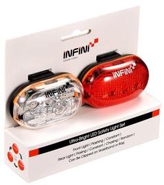 Velosipēdu lukturis Infini Ultra-Bright LED Safety Light Set