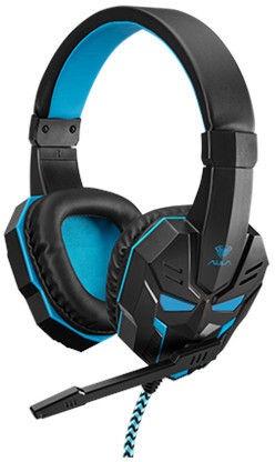 Игровые наушники Aula Prime Basic, синий/черный