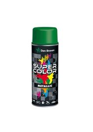 Aerosola krāsa Den Braven Super Color, 400ml, metāliski melna