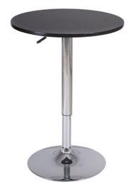 Bāra galds Signal Meble B500 Black, 600x600x930 mm