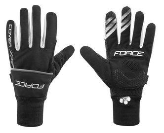 Force Cover Winter Full Gloves Black S